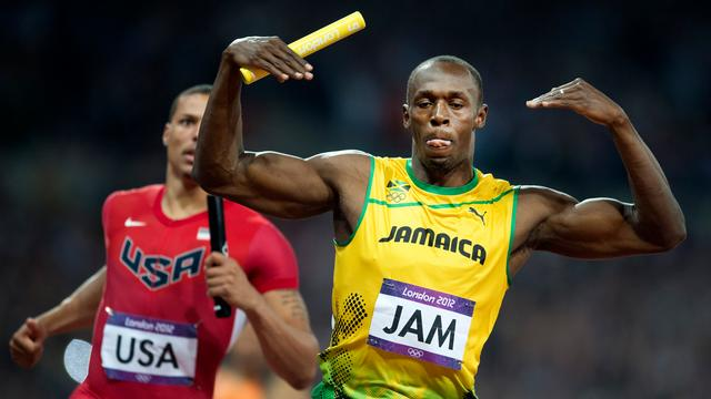 Usain Bolt domineerde Twitter