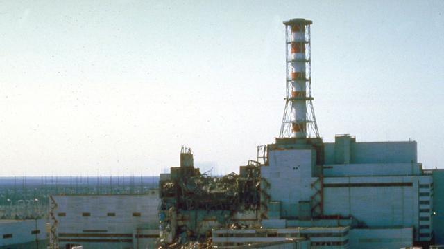 Bouw van koepel over Tsjernobyl begonnen