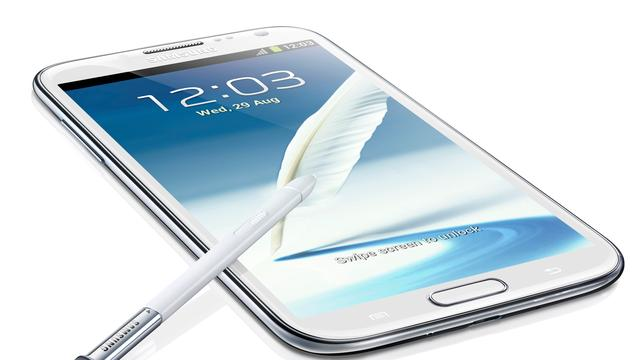 Samsung presenteert Galaxy Note II