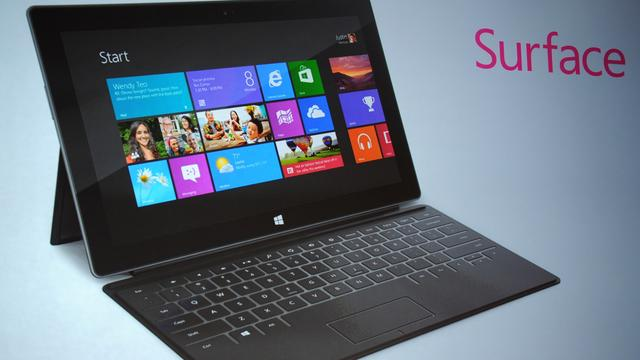 Microsoft brengt Surface-tablet naar Nederland