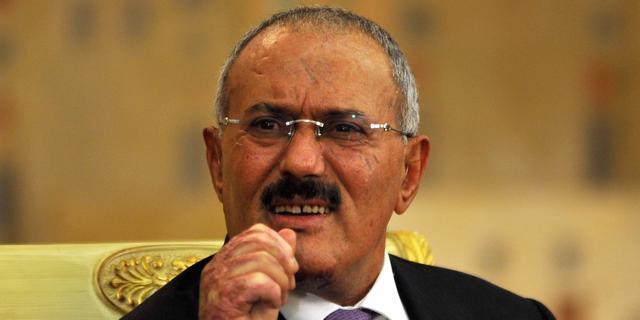 President Saleh van Jemen aangekomen in VS