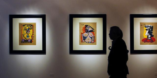 'Kunststudenten' stelen voor anderhalf miljoen aan kunst