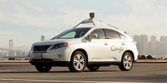 Zelfrijdende auto Google kan snelheidslimiet overtreden