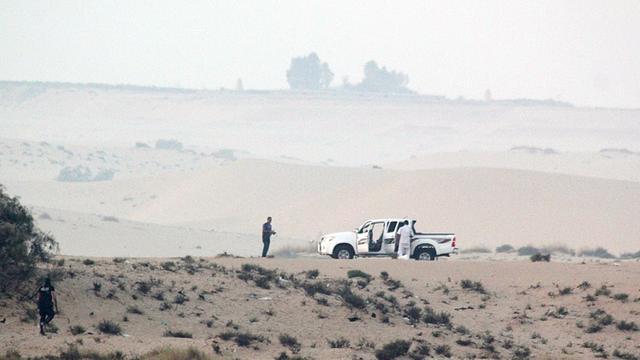 Raketaanval op hoofdkwartier in Sinaï