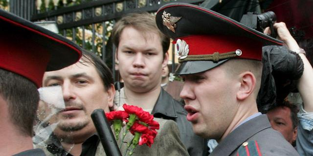 'Scrotumactivist' opgepakt in Sint-Petersburg