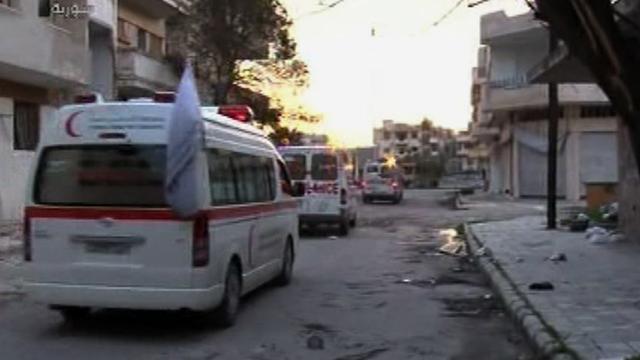 Rode Kruis mag Baba Amr binnengaan