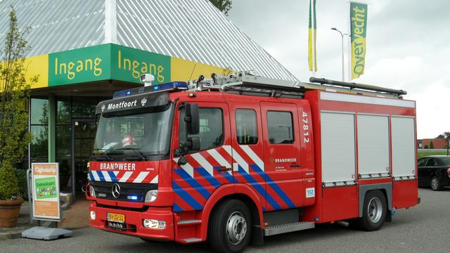 Grote brand in Amsterdam-Oost