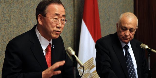 Ban Ki-moon wil VN-missie in Libië