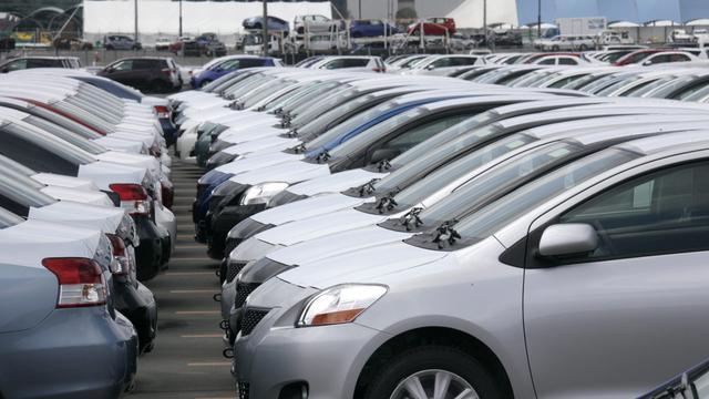 Bijna 6 procent minder autoverkopen dit jaar