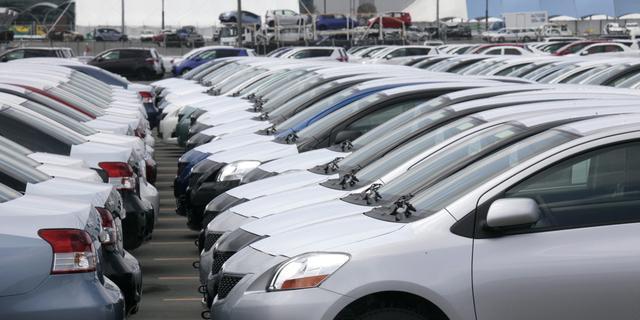 Minder auto's verkocht in juli