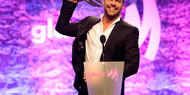 Ricky Martin raakt opgewonden van intelligentie