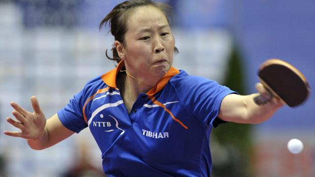 Tafeltennisster Li Jiao naar halve finale EK