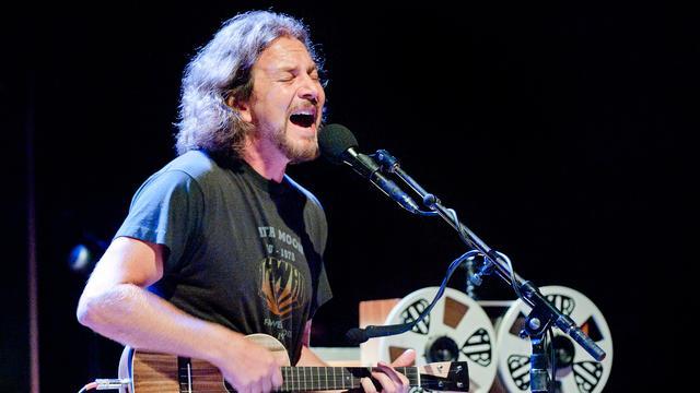 Pearl Jam-frontman Eddie Vedder voor twee concerten naar AFAS Live