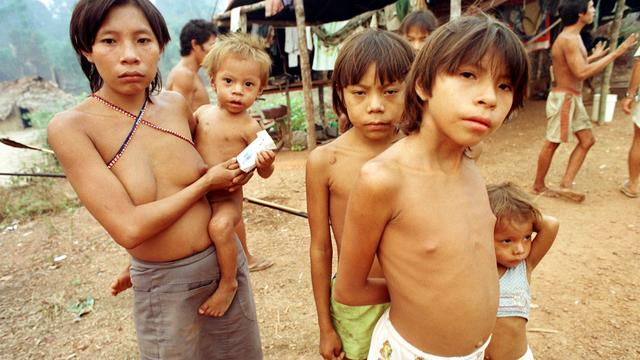 'Massaslachting indianen Venezuela'