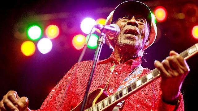 Rocklegende Chuck Berry wordt geëerd