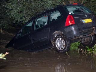 Woonhuizen lijken gespaard te zijn gebleven bij overstroming door Gulp