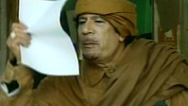 'Kaddafi wilde asiel in Algerije'