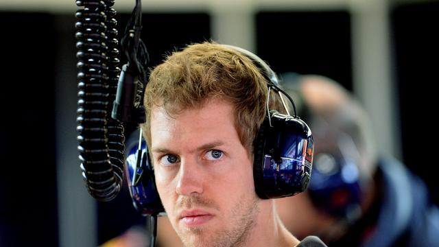 Red Bull Racing baalt van straf Vettel