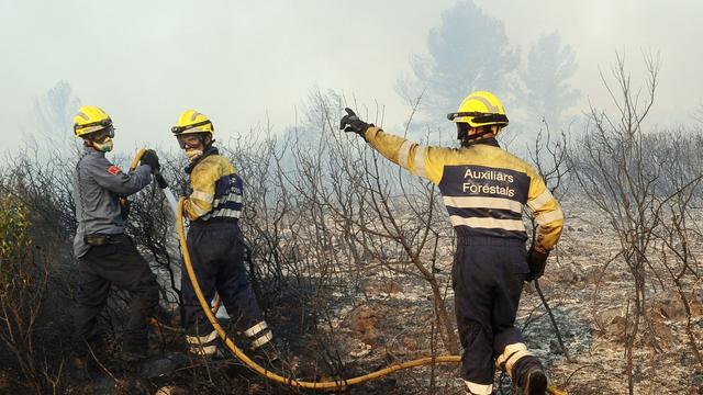 Bosbrand Spanje bijna bedwongen