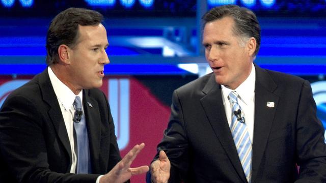 Romney aangekomen in Europa