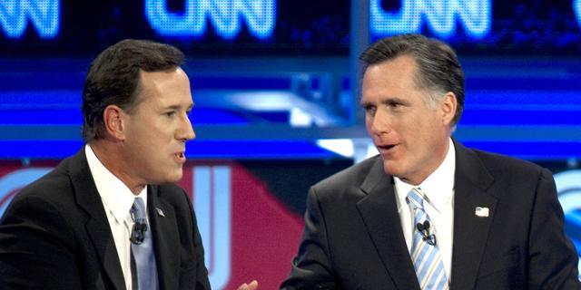 Romney verslaat Santorum in Wyoming