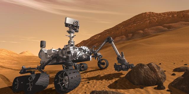Amerikanen sturen weer karretje naar Mars