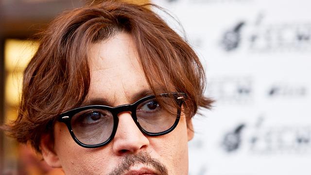 Johnny Depp rockt met Marilyn Manson
