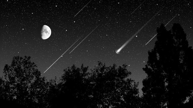 Zaterdag kans op vallende sterren