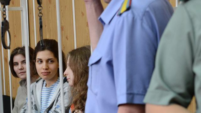Pussy Riot-lid Alechina stopt hongerstaking