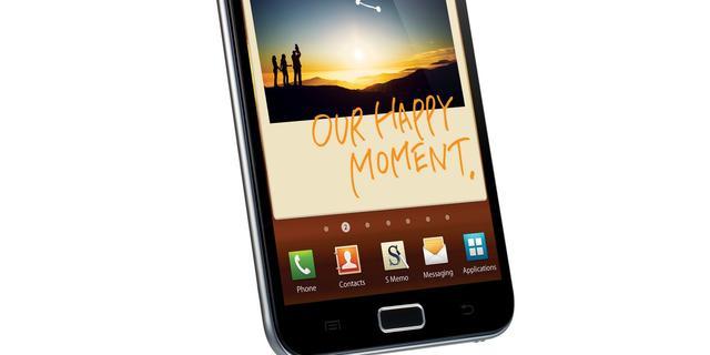 Update Galaxy Note naar Android 4.0 vertraagd