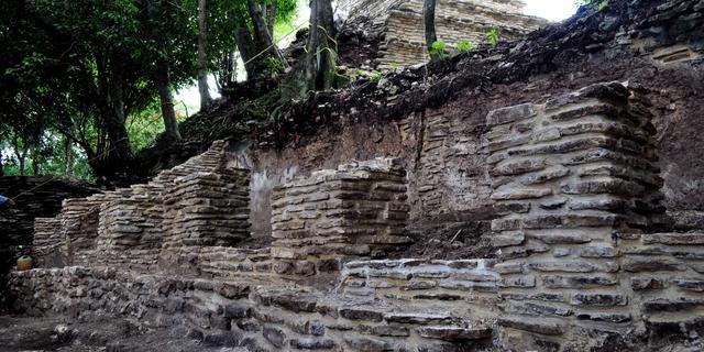 Mayabeschaving ten onder in tijden van droogte