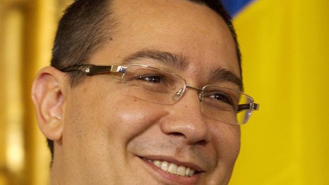 Premier Roemenië legt zich neer bij nederlaag