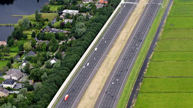 A58 weer open na papierravage