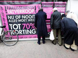 Krimp Nederlandse economie 0,2 procent