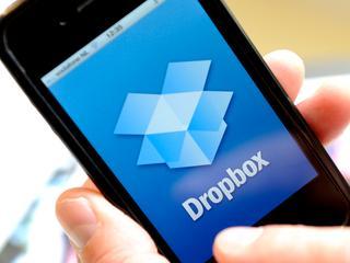 Klein aandeel van de ruim 500 miljoen geregistreerde Dropbox-gebruikers