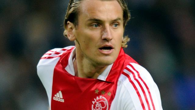 Janssen en Bulykin op de bank bij Ajax