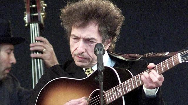 Historische gitaar Bob Dylan onder de hamer