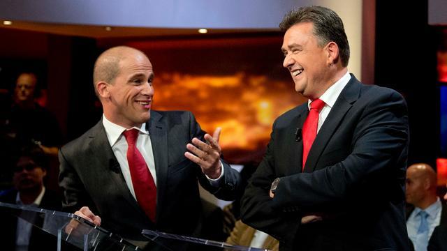 'Samsom de beste tijdens debat'