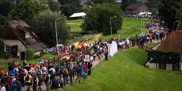 Nijmegen gaat weer week 'op slot' vanwege Vierdaagse
