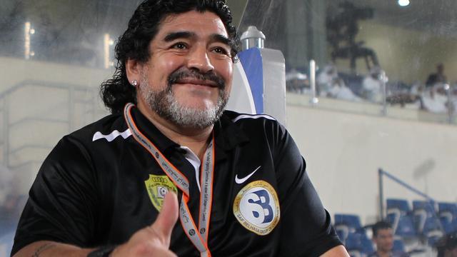 Lucratieve baan voor Maradona in Dubai
