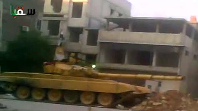 'Hevige gevechten in wijk Damascus'