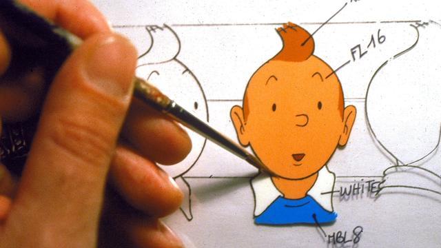 Hergé Genootschap mag Kuifje-tekeningen gebruiken