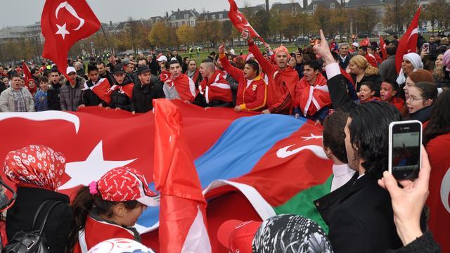 Gewonden bij betoging voor PKK-leider Öcalan