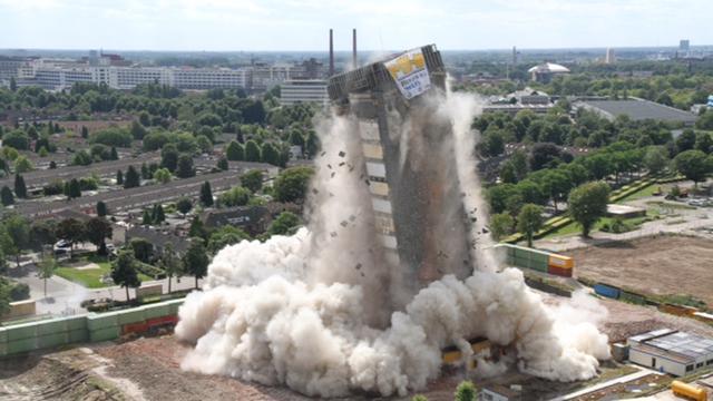 Noodverordening rond toren Philips verlengd
