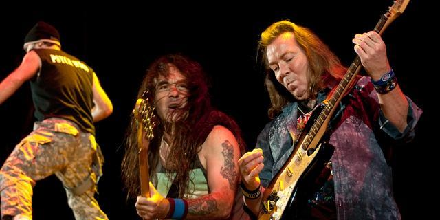 Iron Maiden plant tour op basis van locatie Bittorrent-downloaders