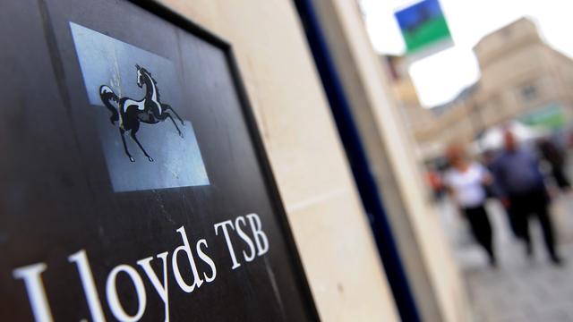 Opnieuw afschrijving voor Lloyds