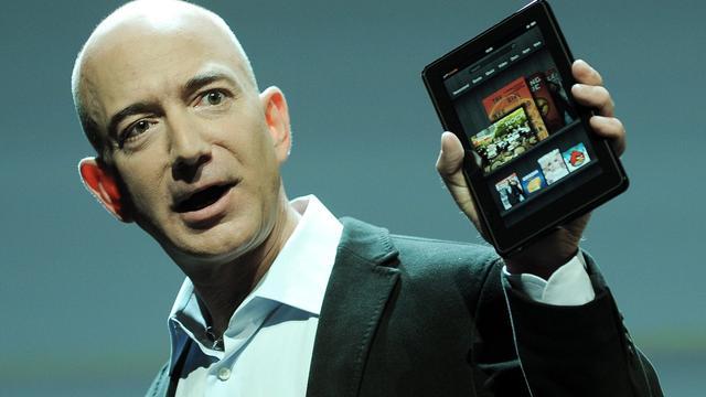 Foto's nieuwe modellen Kindle op internet