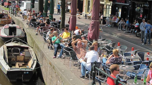 Woensdag tropisch warm in Amsterdam