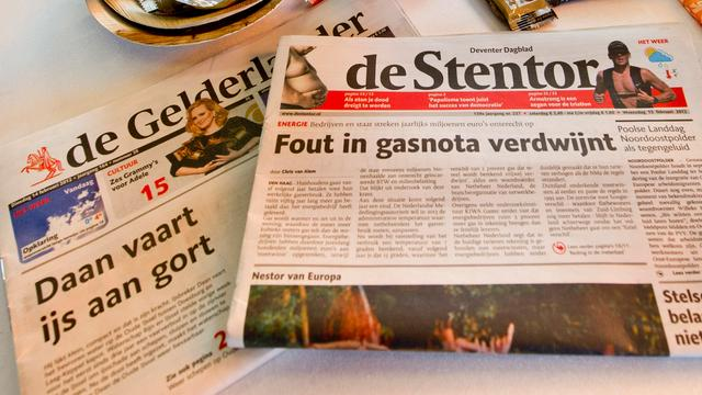 'Telegraaf stapt uit race om Wegener'