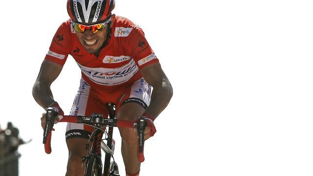 Rodriguez houdt stand in zware Vuelta-rit